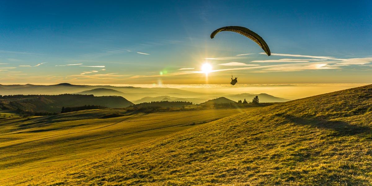 Wasserkuppe Südhang Paragliding