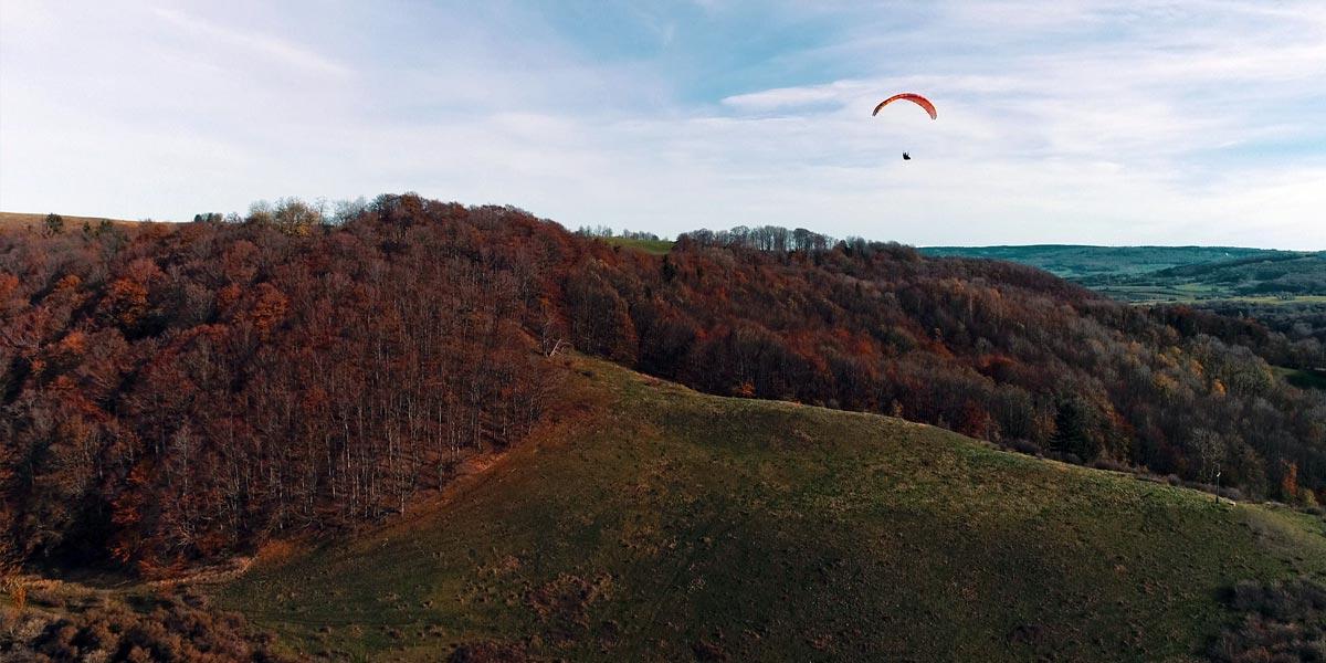 Weiherkuppe Paragliding